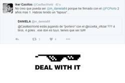 Enlace a Zasca de Iker en Twitter