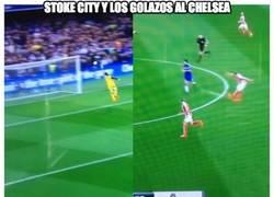 Enlace a Stoke City y los golazos al Chelsea