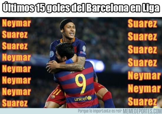 729516 - Neymar y Suárez, intratables en Liga
