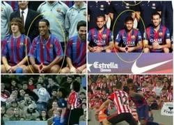 Enlace a Neymar, cada vez más parecido a Ronaldinho
