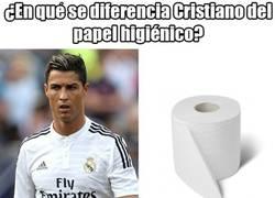 Enlace a ¿En qué se diferencia Cristiano del papel higiénico?