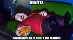 Enlace a Mientras tanto, Benítez...