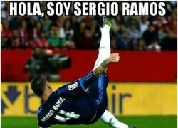 Enlace a Sergio Ramos lo da todo por el Real Madrid