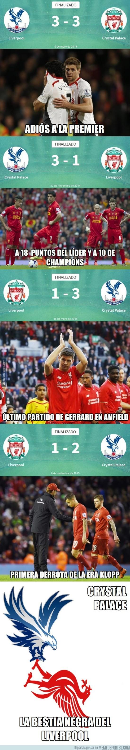 730863 - Lo del Liverpool con el Crystal Palace empieza a ser gafe
