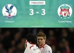 Enlace a Lo del Liverpool con el Crystal Palace empieza a ser gafe