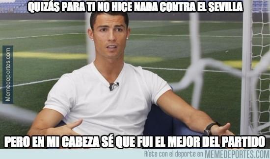 730904 - Cristiano analiza su partido contra el Sevilla