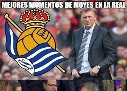 Enlace a Homenaje a David Moyes tras su paso por la Real Sociedad