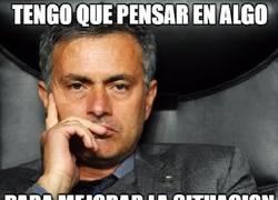 Enlace a Mourinho tiene algo entre manos...