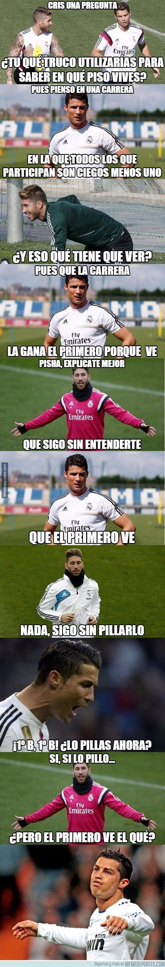 731099 - Sergio Ramos no se entera de nada...