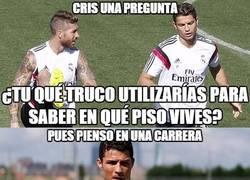 Enlace a Sergio Ramos no se entera de nada...