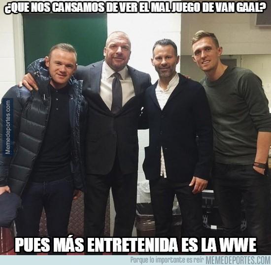731263 - El United se va a la WWE