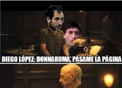Enlace a La complicada situación de Diego López en Milán