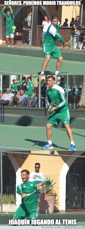 731812 - ¡Joaquín se pasa al tenis!
