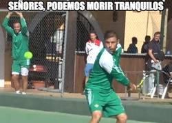 Enlace a ¡Joaquín se pasa al tenis!