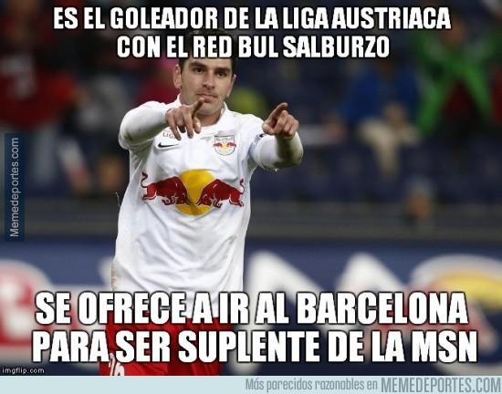 731889 - Jonathan Soriano con ganas de ir al Barça