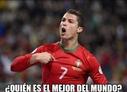 Enlace a ¿Quién es el mejor jugador del mundo? Cristiano pregunta