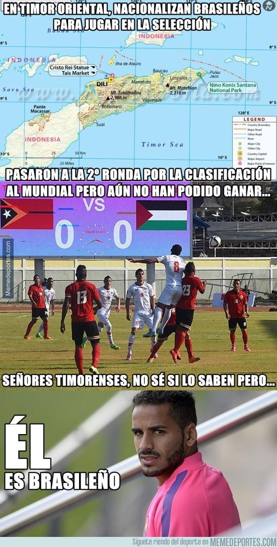 732157 - Timor Oriental podría ser campeona del Mundo
