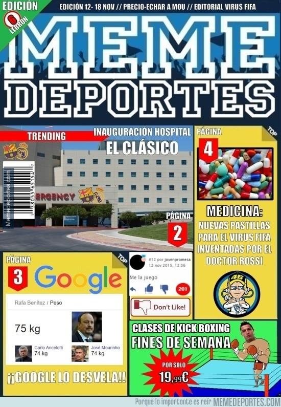 732232 - ¡La 6ª edición de la revista Memedeportes!