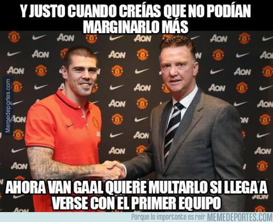 732846 - Van Gaal se está pasando mucho con Valdés