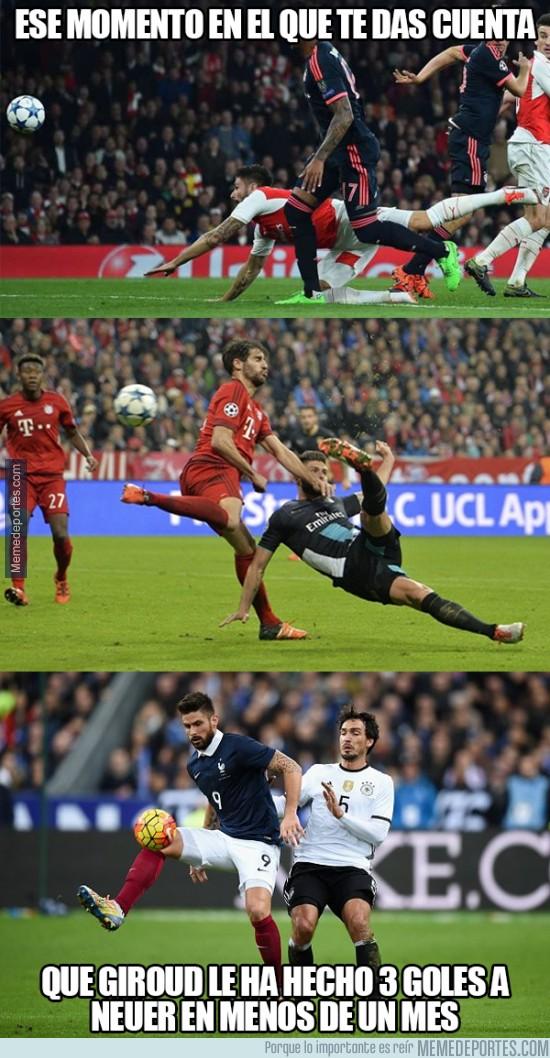 733071 - Giroud está en racha contra Neuer