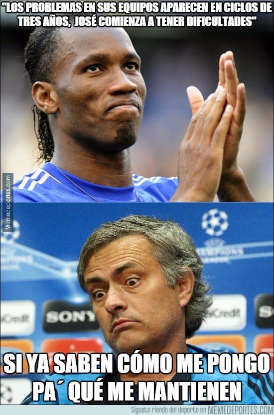 733924 - Drogba desvela los problemas de Mourinho