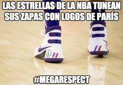 Enlace a Gran gesto en la NBA