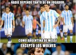 Enlace a Wolves feel like Argentina