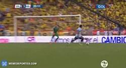 Enlace a GIF: ¡Gol de Biglia que adelanta a Argentina frente a Colombia!