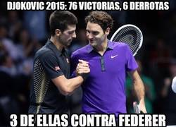 Enlace a Federer sabe ganar a Djokovic