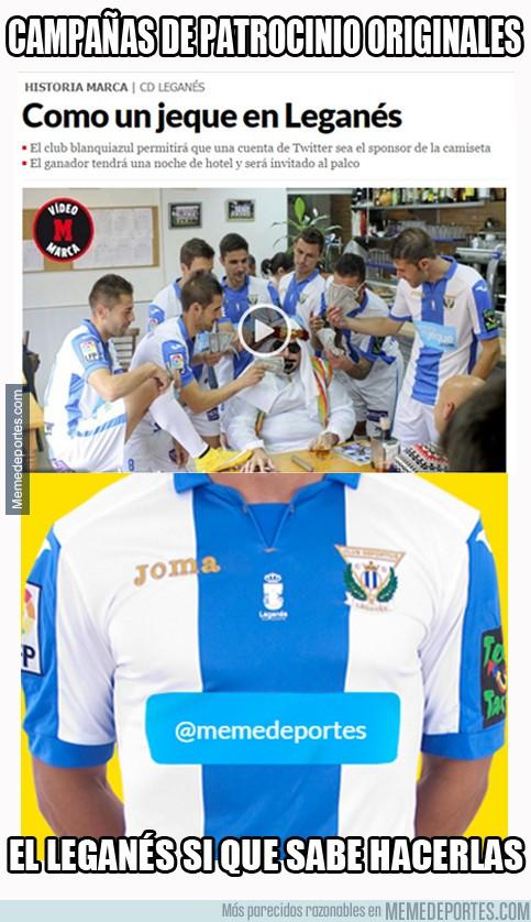 735880 - Original campaña de patrocinio que lanza el Leganés
