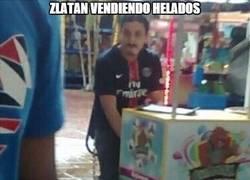 Enlace a Zlatan se busca la vida fuera del PSG