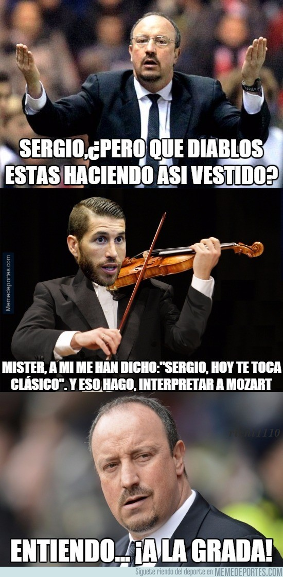 737235 - Benítez se está cansando de Sergio Ramos