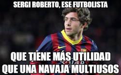 Enlace a Brutal Sergi Roberto