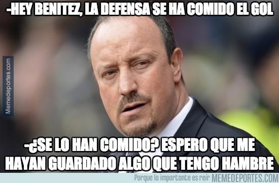 737802 - Benítez analizando el gol de Suárez