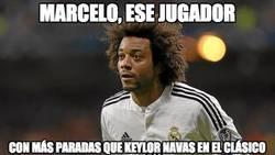 Enlace a El mejor del Real Madrid en el Clásico