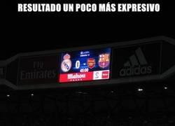 Enlace a El resultado del Bernabéu