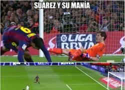 Enlace a Suárez y su manía contra el Madrid