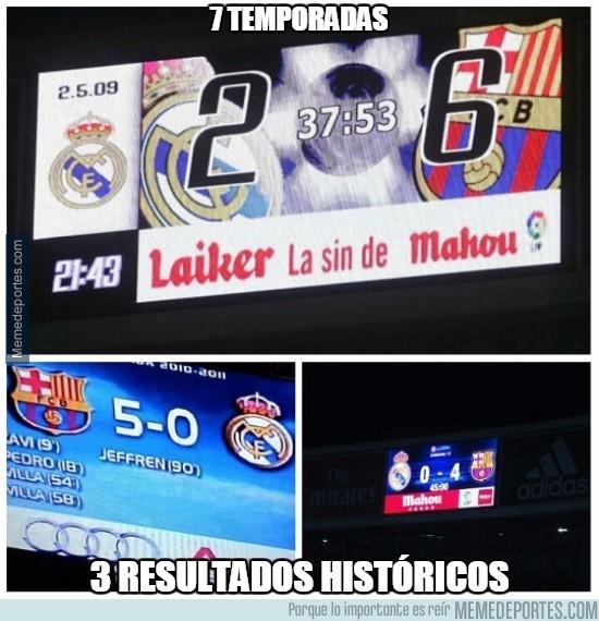 739939 - El Barça y sus resultados contra el Real Madrid
