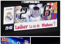 Enlace a El Barça y sus resultados contra el Real Madrid