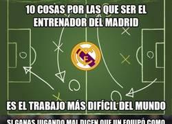Enlace a Lo que hay que sufrir en el banquillo del Real Madrid