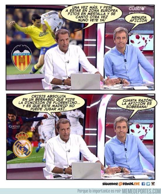 741719 - Diferencias en la prensa entre equipos españoles, por@humorche