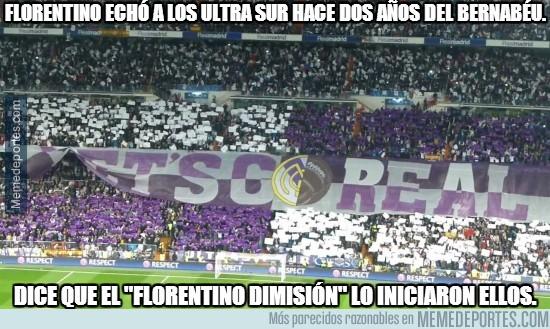 741787 - Florentino echó a los Ultra sur hace dos años del Bernabéu