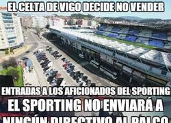 Enlace a Buen gesto de la directiva del Sporting