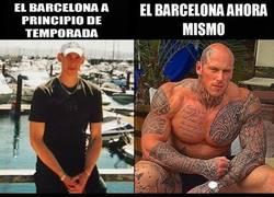 Enlace a La evolución del Barça