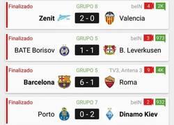 Enlace a Aunque parezca que no... ayer jugaron más equipos aparte del Barça - Roma