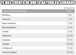Enlace a El Bayern ya ha ganado la Bundesliga según las casas de apuestas