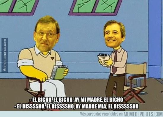 743207 - Rajoy en la Cadena COPE retransmitiendo el Madrid... por @SergioAlonso