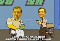 Enlace a Rajoy en la Cadena COPE retransmitiendo el Madrid... por @SergioAlonso