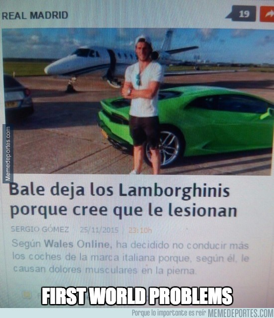 743841 - Bale y su problema con los Lamborghinis, first world problems