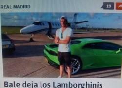 Enlace a Bale y su problema con los Lamborghinis, first world problems